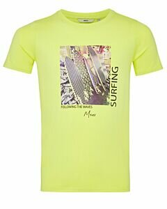 Mexx Lime T-shirt with print