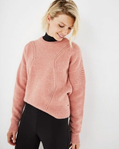 Mexx pink knitted sweater