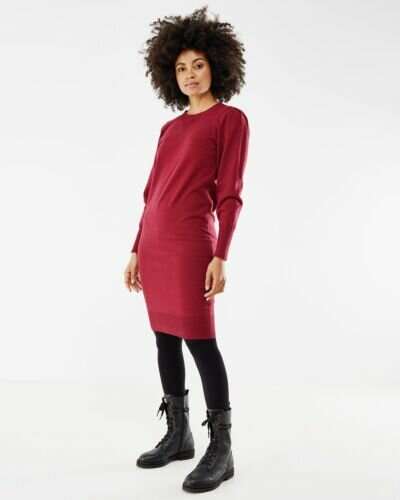 Mexx red knitted dress