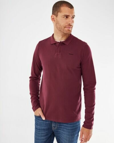 Polo Bordeaux Red