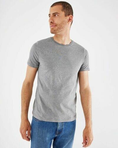 Crewneck T-Shirt Grey Melange