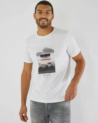 T-shirt with photoprint white