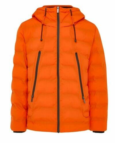 Mexx Hooded puffer jacket Orange