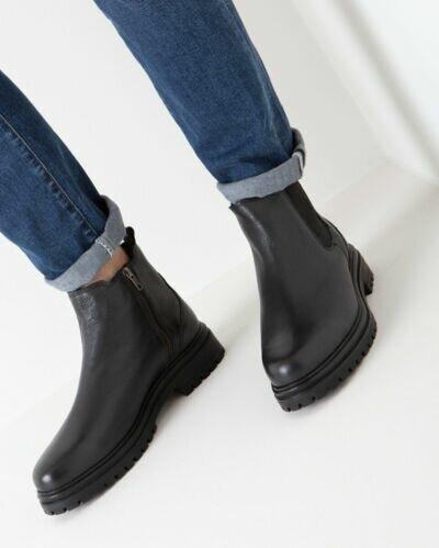 Mexx Herbert black chelsea boot for men