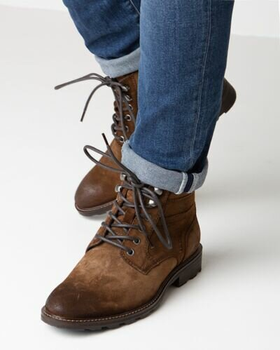 Mexx lace-up boot brown for men
