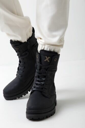 Mexx Women Lined Lace-up boot Hoshi black
