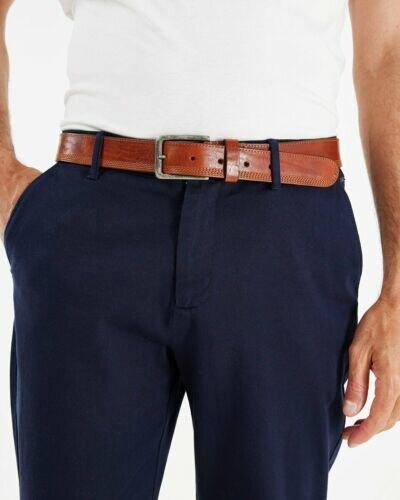 Mexx Stitched trough belt Brown