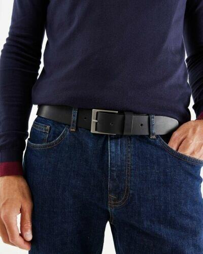 Mexx Leather belt Black