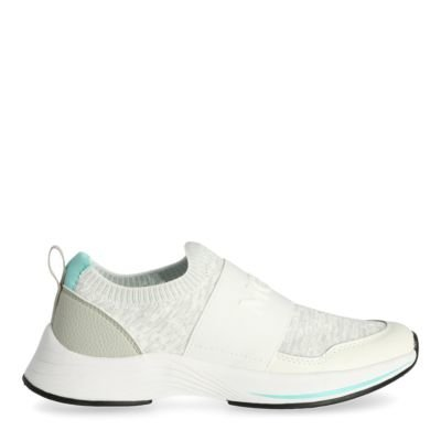Sneaker-Emy-White/Light-Blue