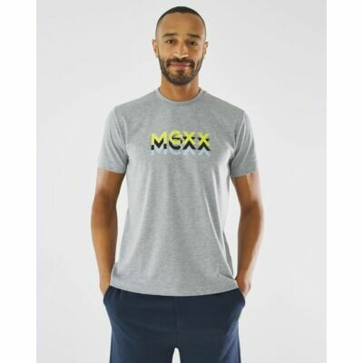 T-shirt With Graphic Print Mexx Grey Melee