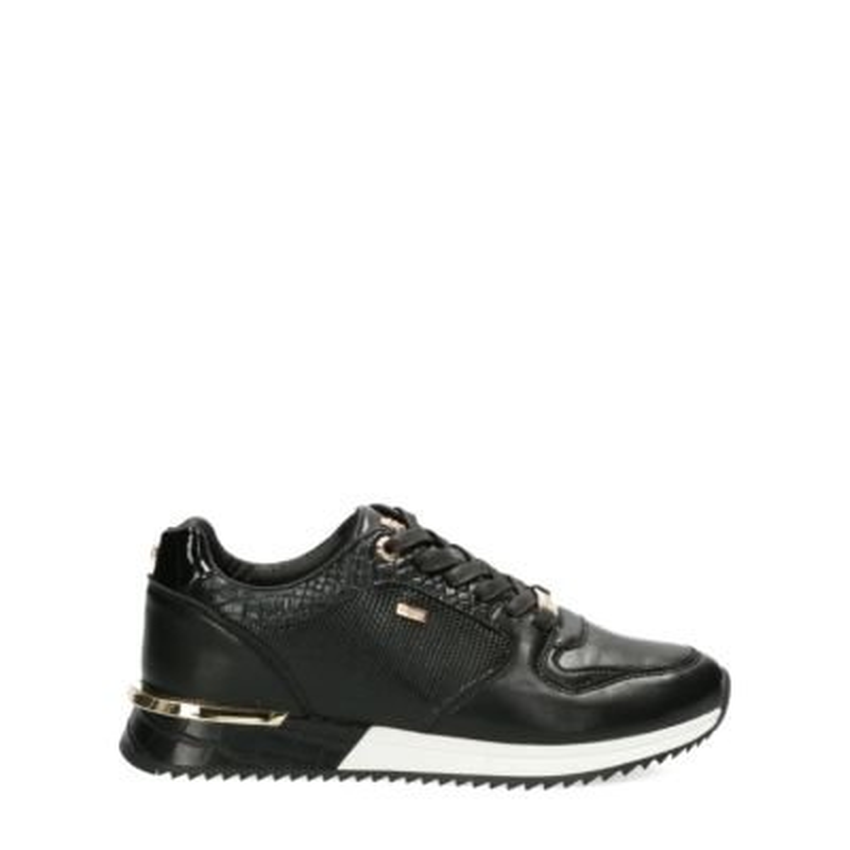 Sneaker-Fleur-Schwarz