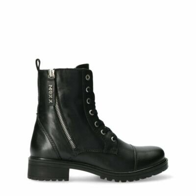 Bikerboot-Fliss-black