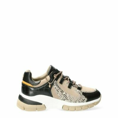 Sneakers-Fenne-Black/Beige