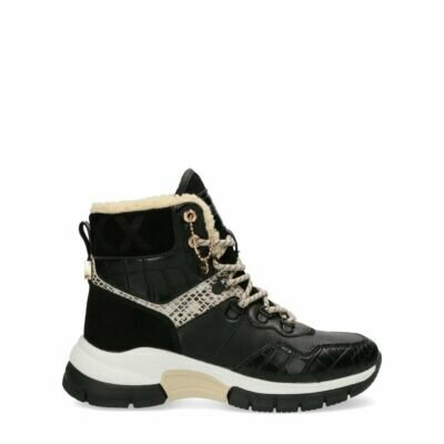 High-Sneaker-Faylin-Black/Off-white