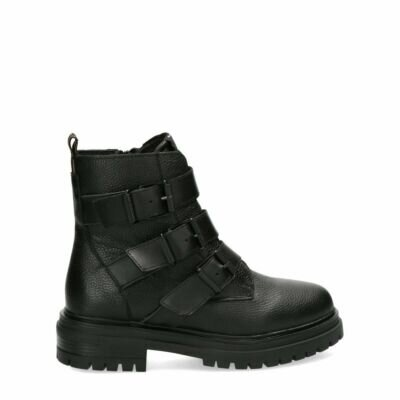Bikerboot-Forever-Black