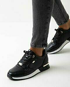 Sneaker Fleur black