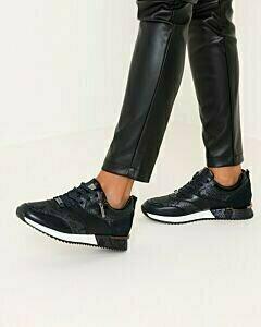 Sneaker Finni donkerblauw
