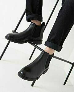 Mexx Haytem black chelsea boot for men