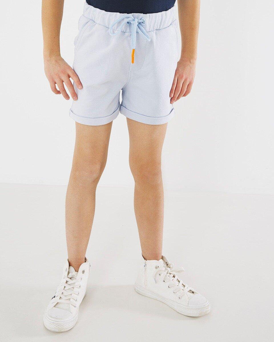 Korte broek lichtblauw