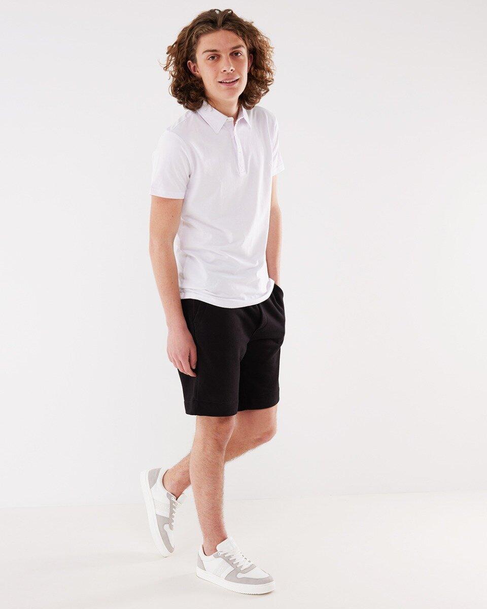 Korte Joggingbroek Zwart