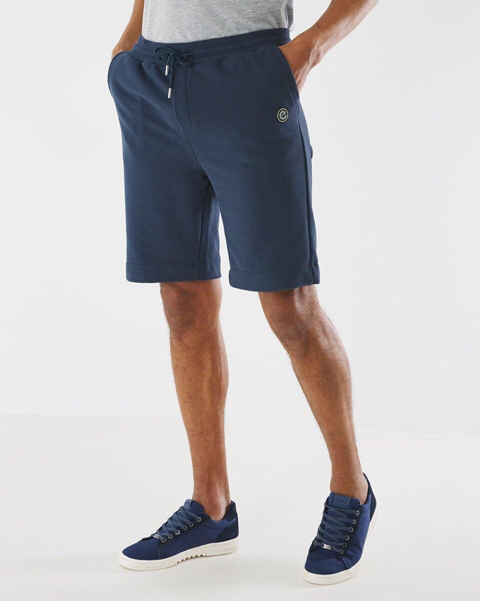 Korte Joggingbroek Donkerblauw
