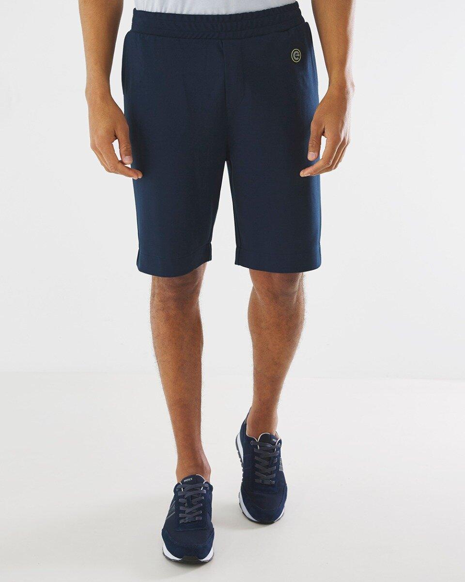 Donkerblauwe Korte Joggingbroek