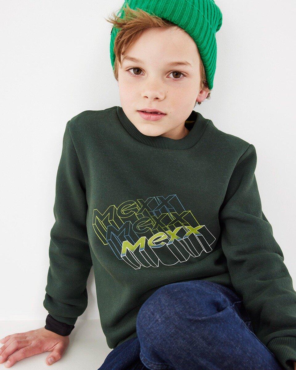 Crew Neck Sweatshirt Dark Green