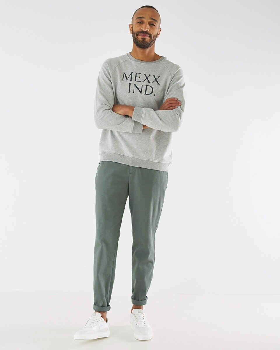 Crewneck Sweatshirt Grey Melange