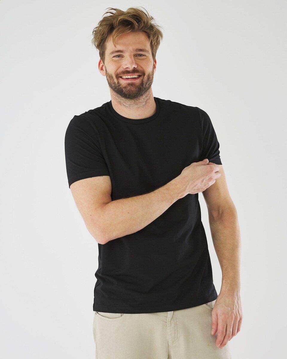 T-shirt Mason Zwart