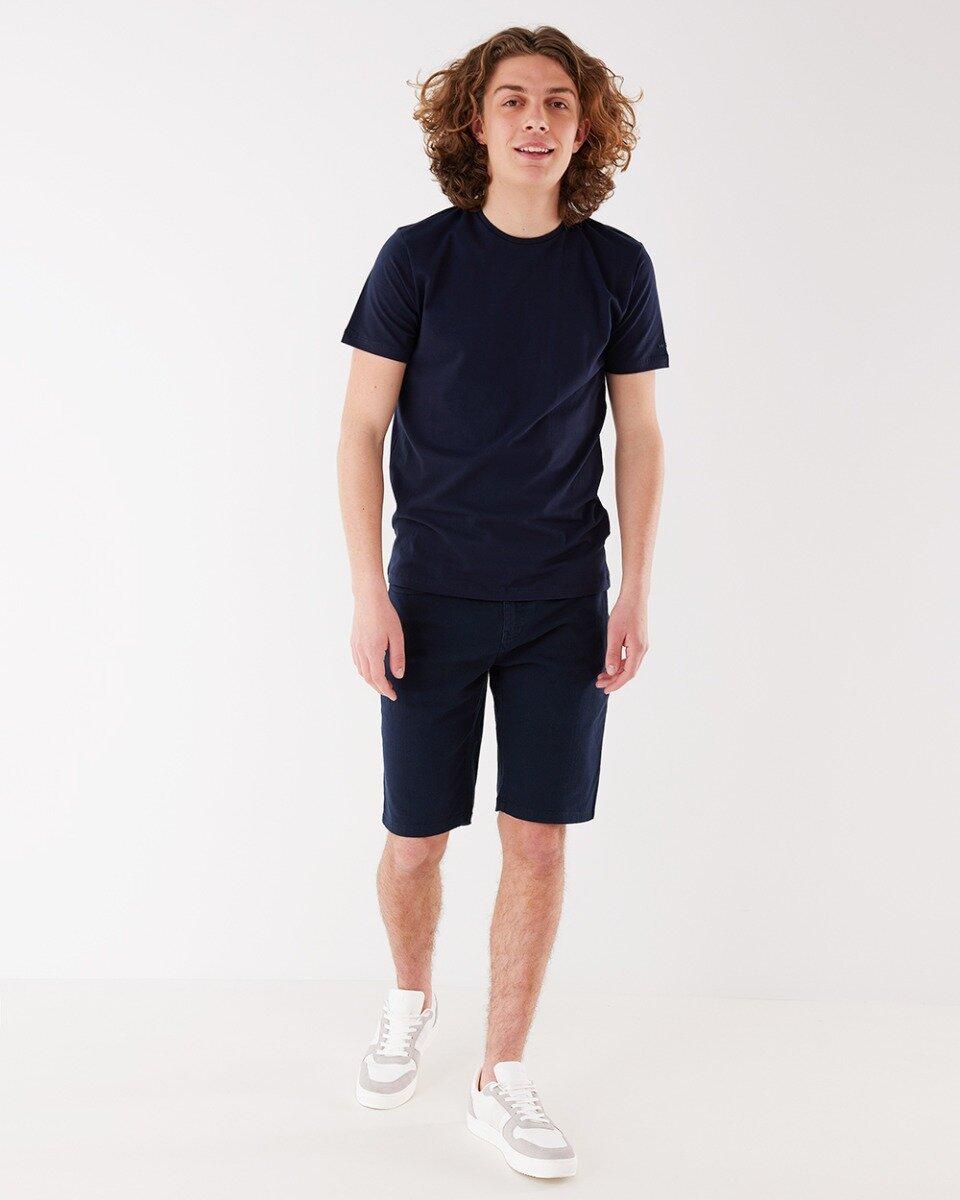 T-shirt Mason Donkerblauw