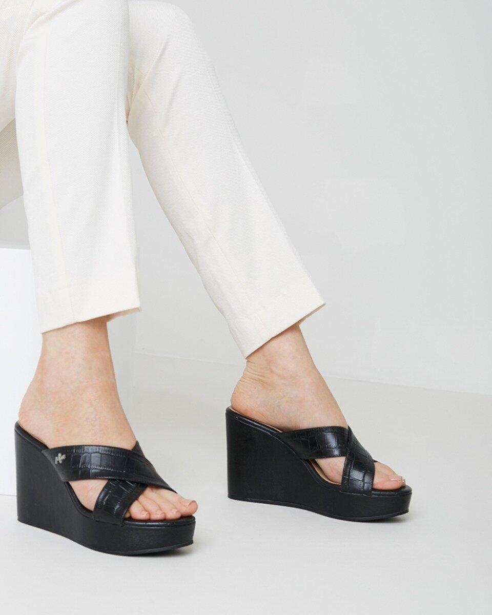 Sandaal met hak Ena Zwart