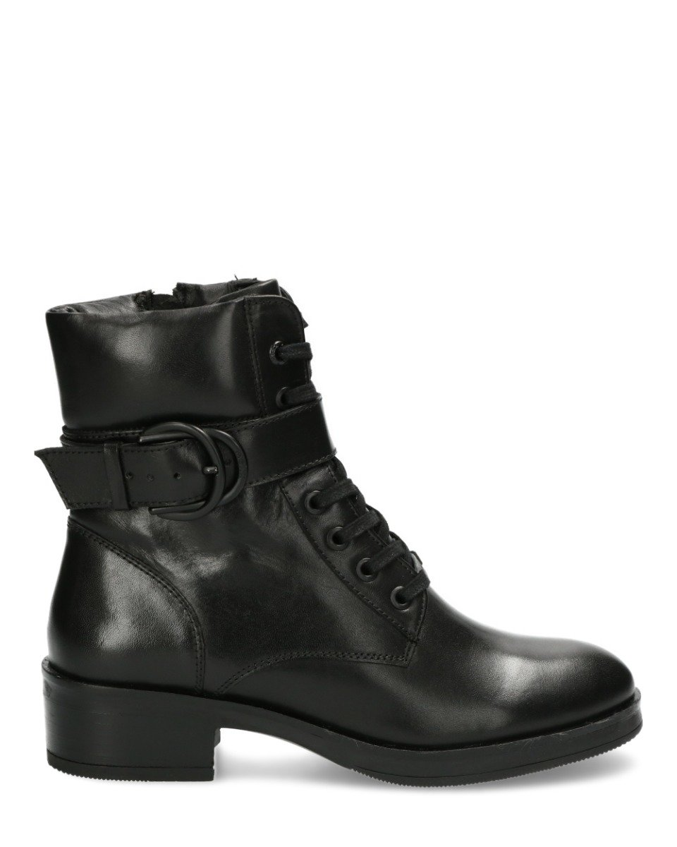 Bikerboot Daley Zwart