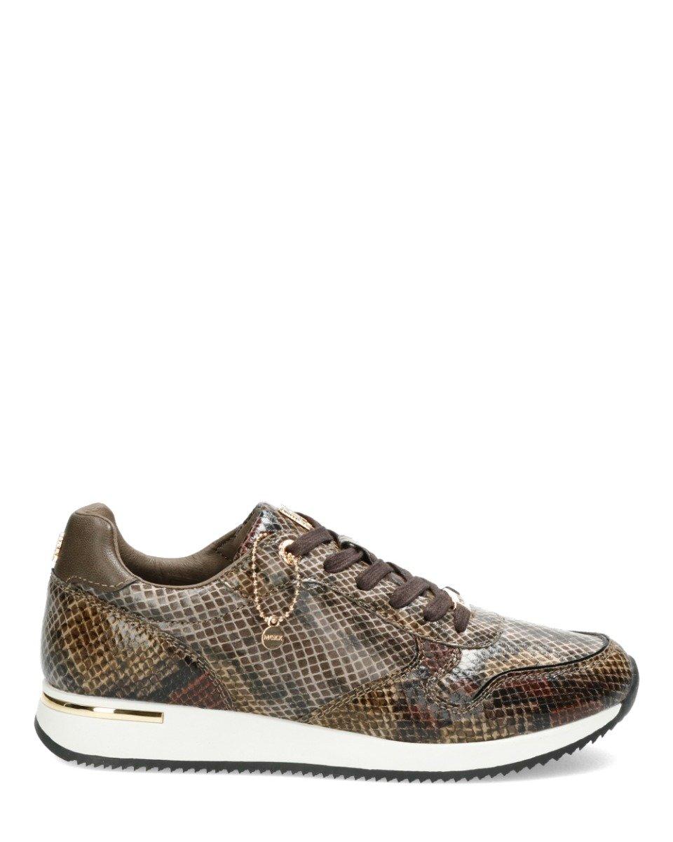Sneaker Eflin Bruin/ Zwart/Grijs