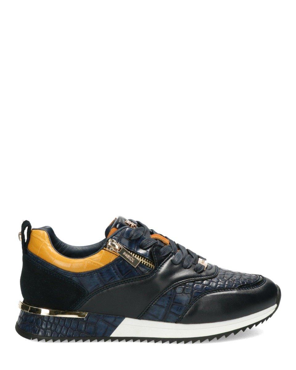 Sneaker Finni Navy/Cognac