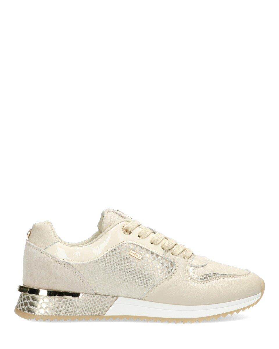 Sneaker Fleur Beige/Goud