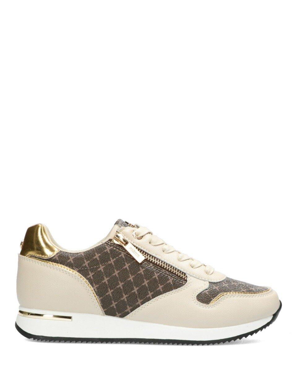 Sneaker Djana Beige/Goud