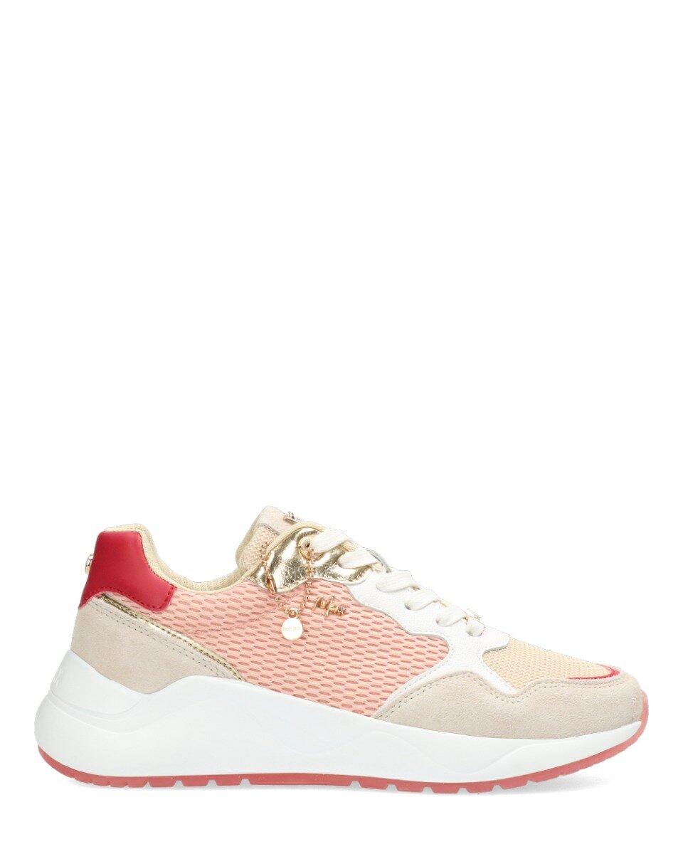 Sneaker Goa Beige/Roze