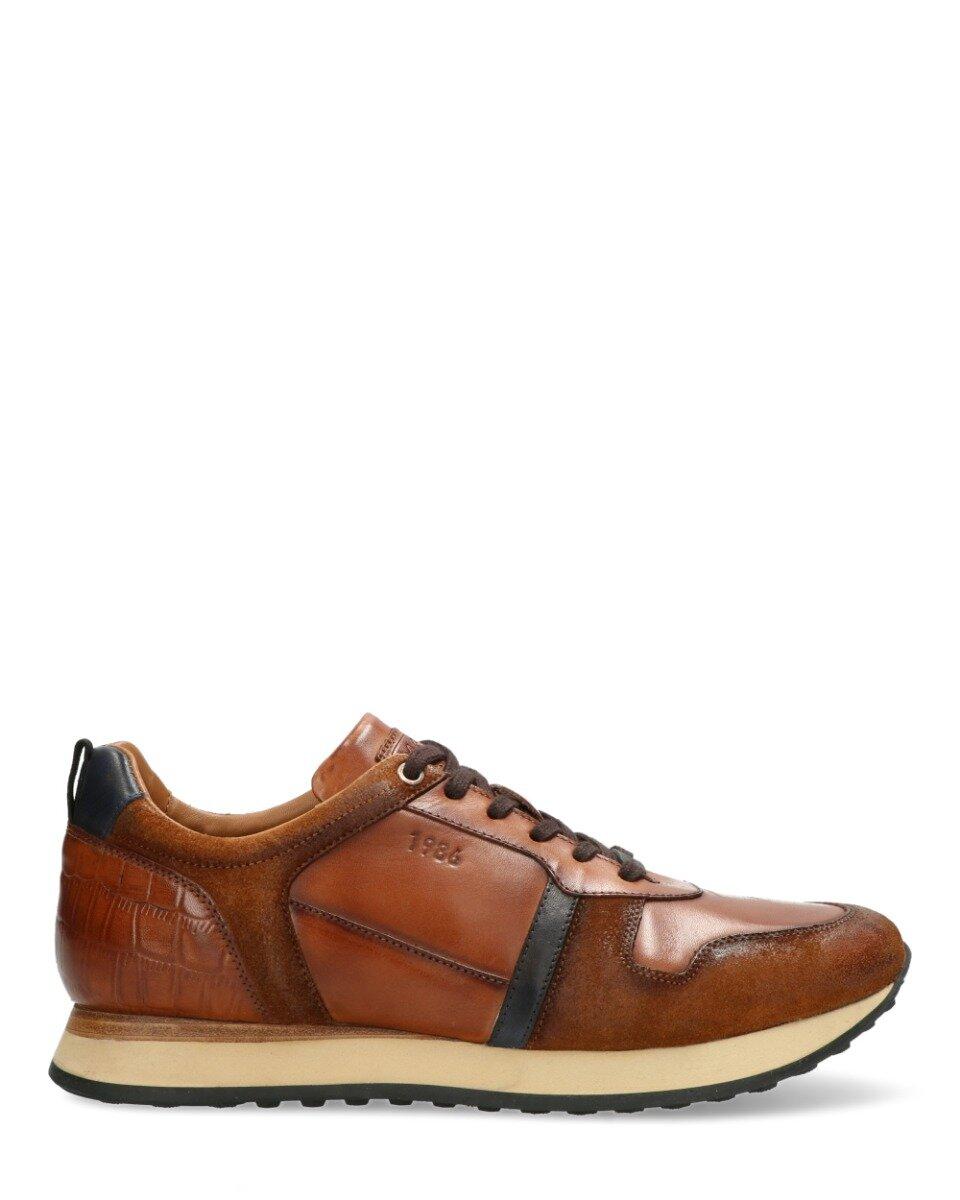 Sneaker Fuentes Bruin/Blauw