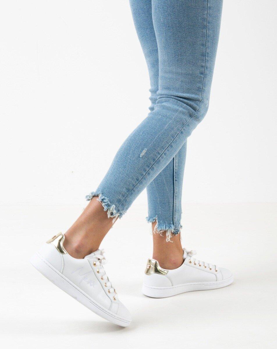 Sneaker Glib Wit/Goud