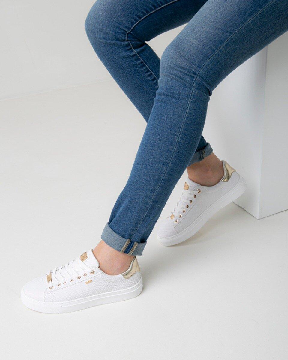 Sneaker Crista Wit