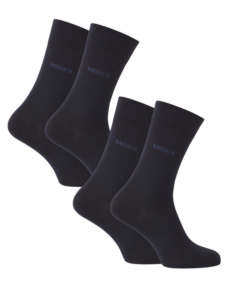 Heren business sokken (2-pack) donkerblauw