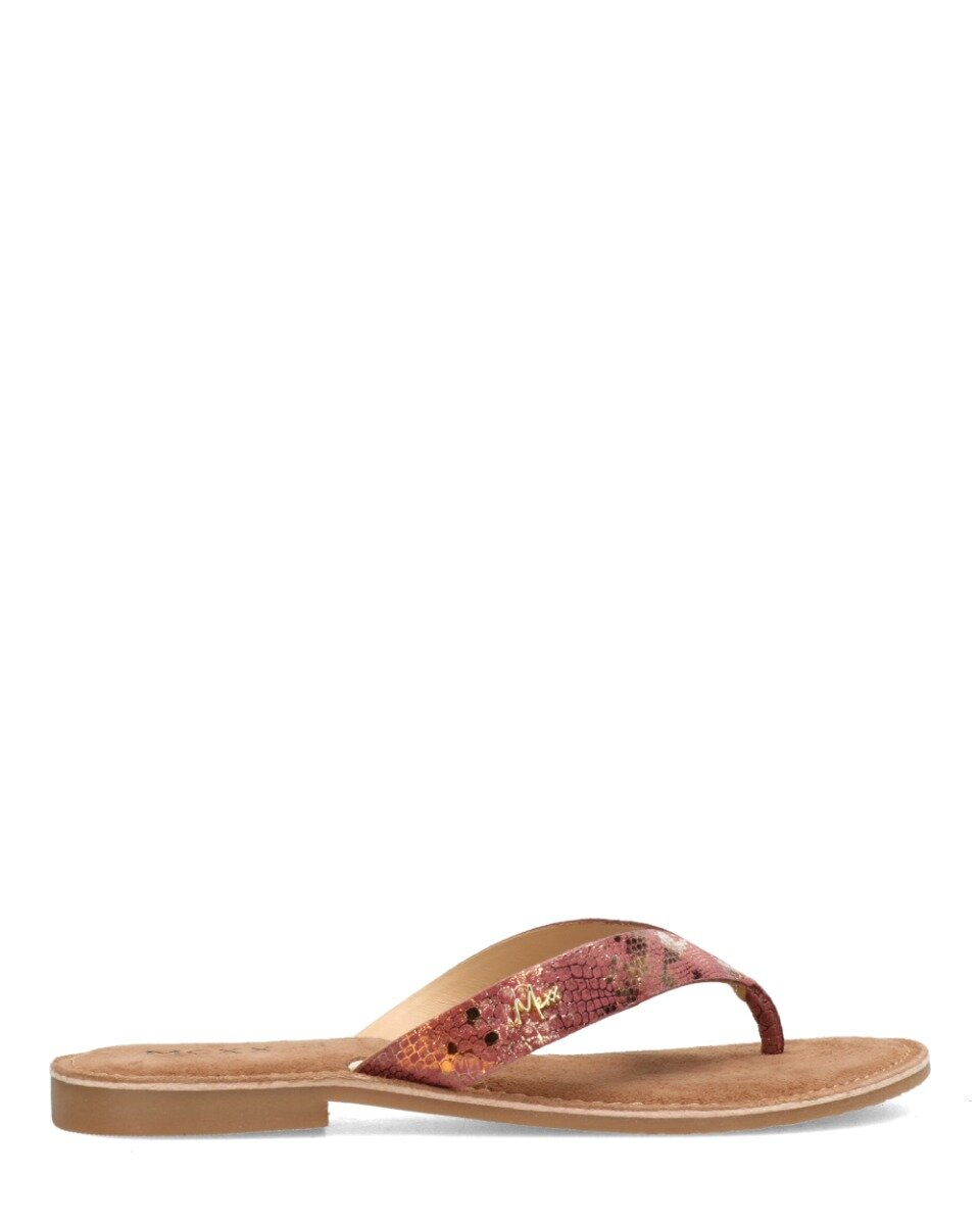 Slipper Grizzly Naturel