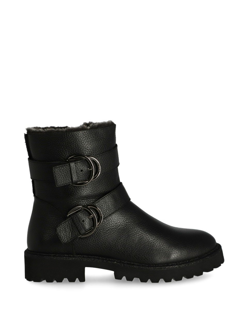 Bikerboot Flexi Zwart
