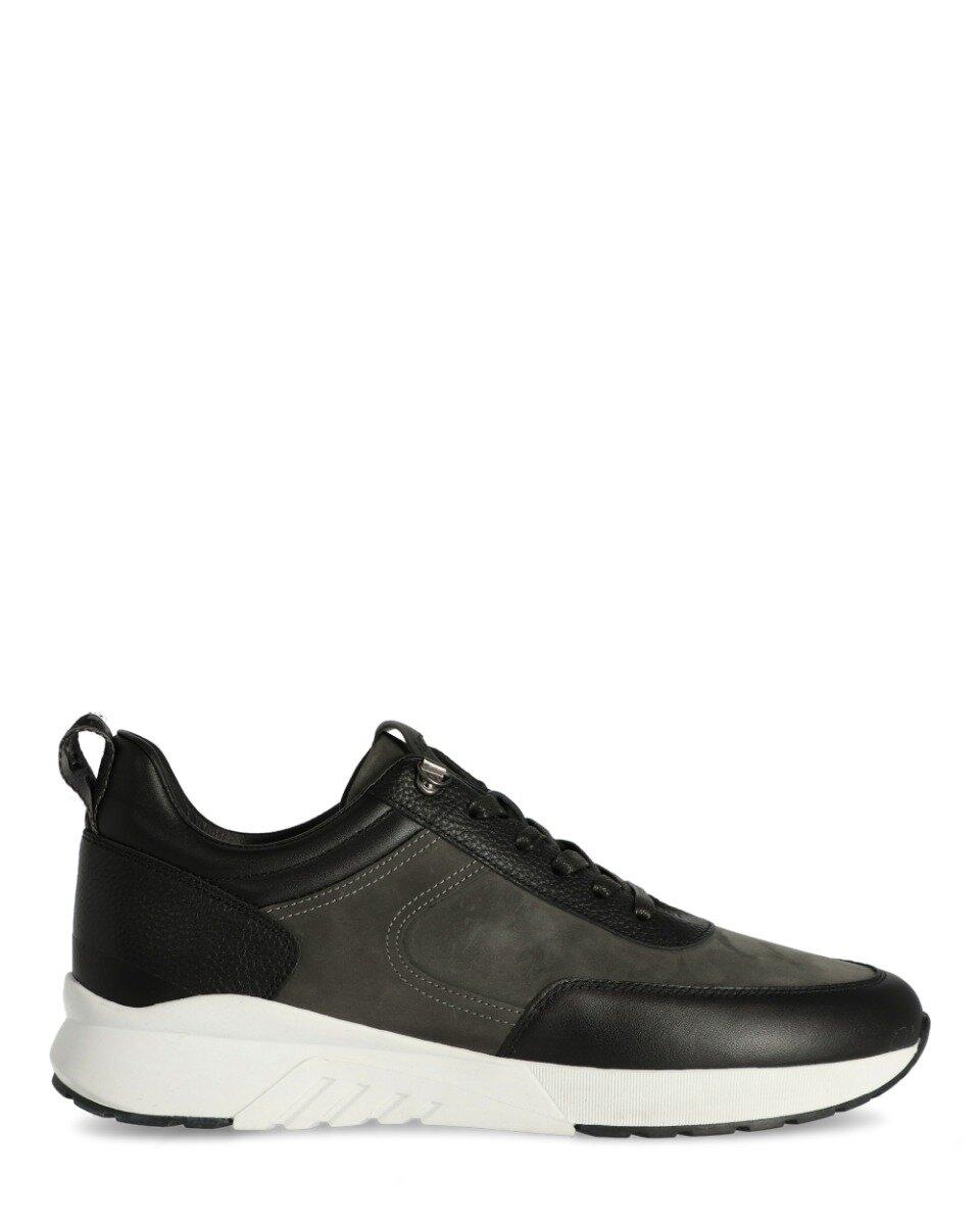 Sneaker Ferris Grijs/ Zwart