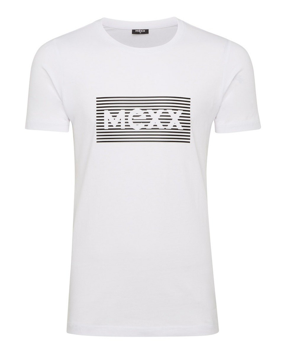 Wit heren logo T-shirt