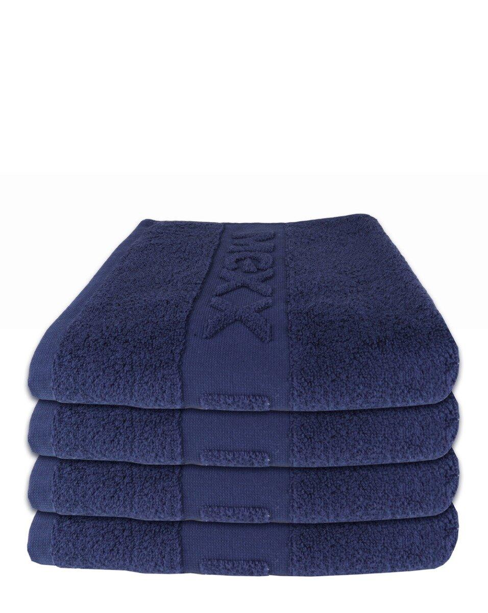 Handdoek donkerblauw 50 x 100cm