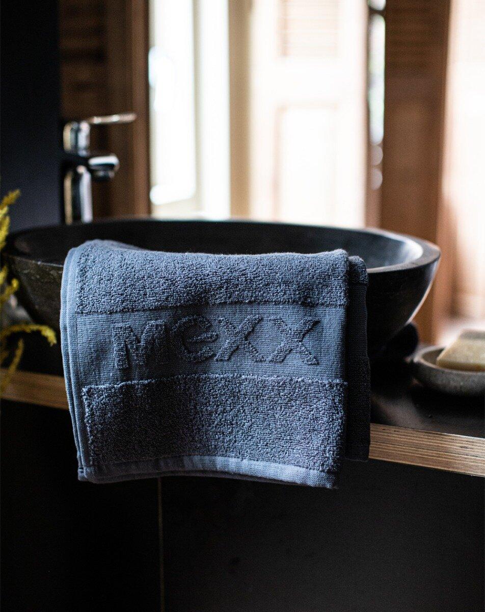 Handdoek antraciet 50 x 100 cm