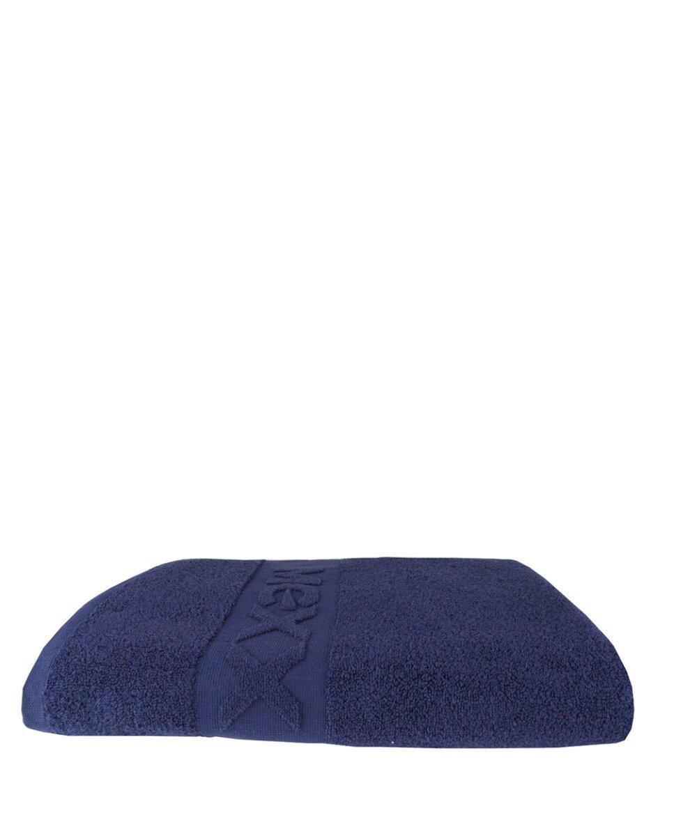 Badhanddoek donkerblauw 140x70