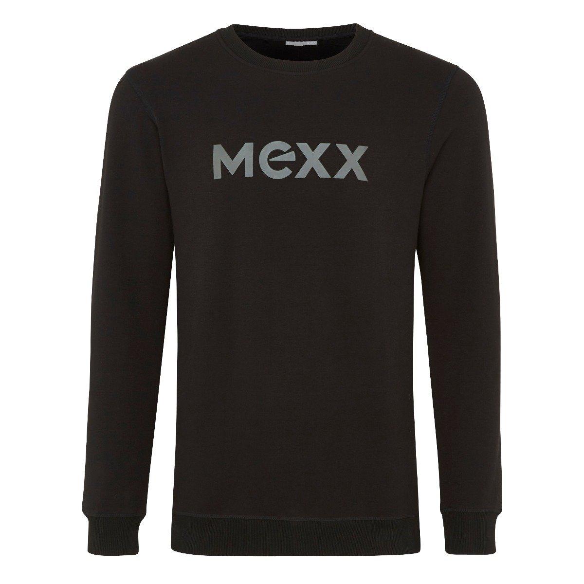 Zwarte Sweater met HD print Heren