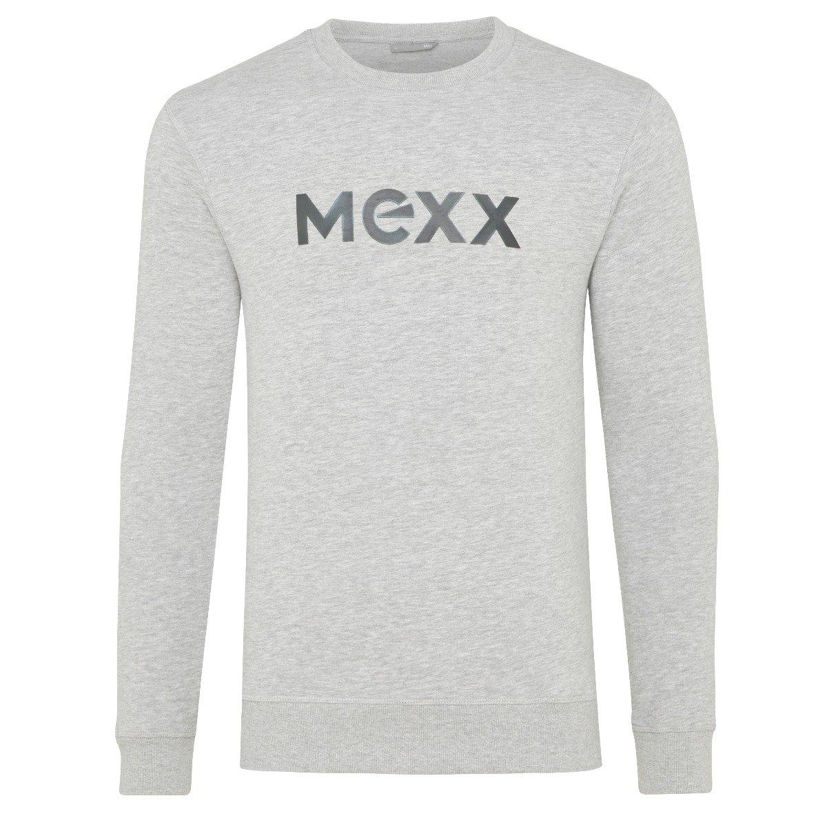 Grijze Sweater met HD Print Heren